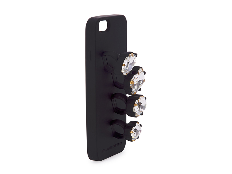 Stella McCartney Rhinestone Knuckle Ring iPhone 6 Case