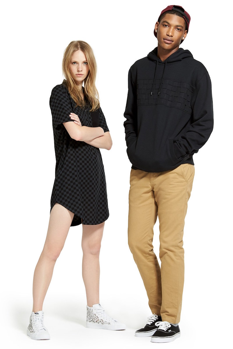 Vans Checker Short Sleeve Shirtdress