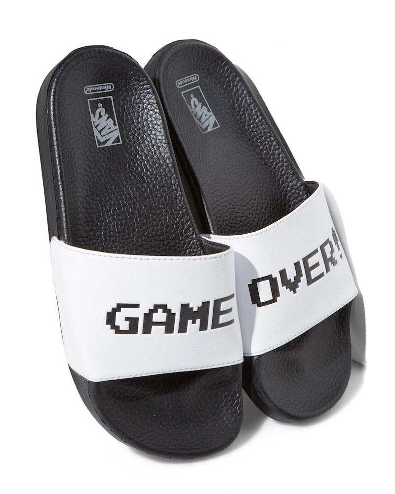 Vans x Nintendo Game Over Slide Sandal