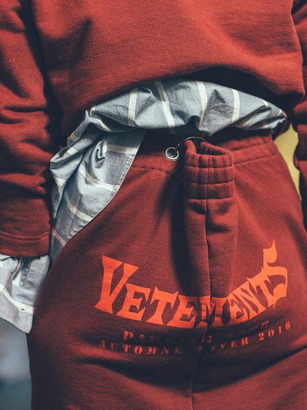 Vetements Logo-print Cotton-blend Maxi Sweat Skirt