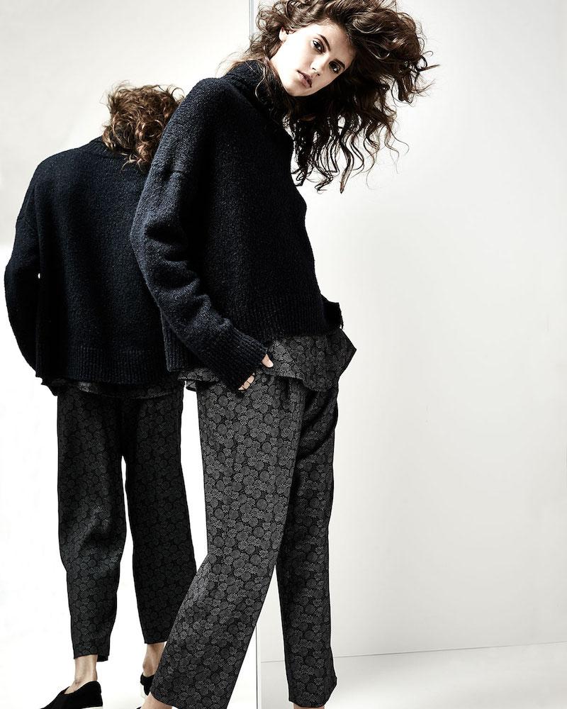 Vince Oversized Knit Turtleneck Sweater