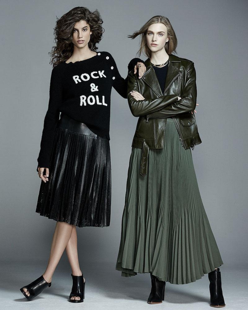 Zadig & Voltaire Rock & Roll Cashmere Raglan Pullover Sweater