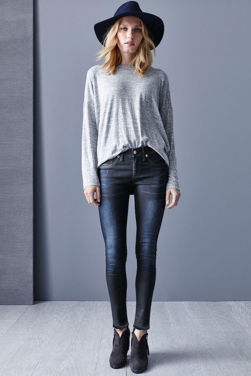 rag & bone/JEAN Liz Long Sleeve Tee