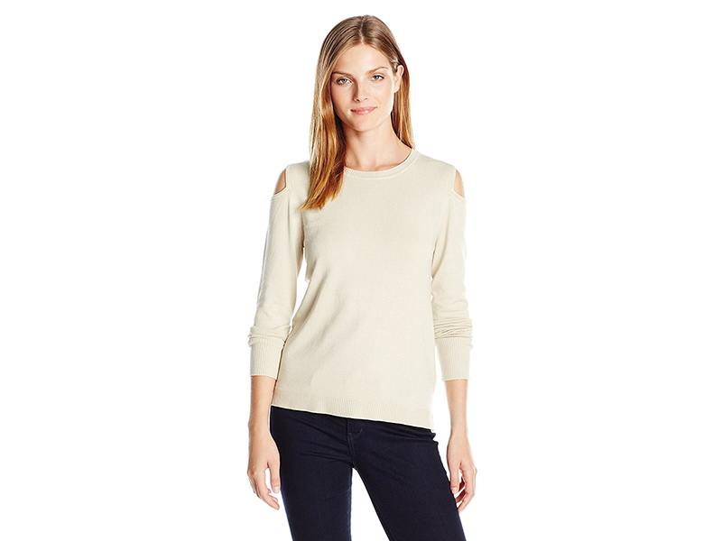 525 America Crew Neck Fine Gg Open Shoulder Elbow