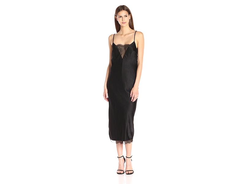 ABS Allen Schwartz T-Length Lingerie Satin Slip Gown