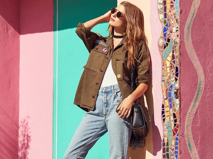AGOLDE x REVOLVE Stella Utility Shirt Jacket