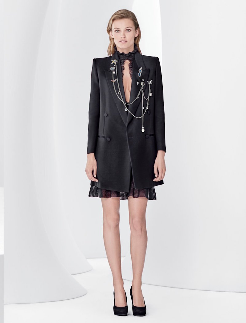 Alexander McQueen Double-breasted Tuxedo Coat
