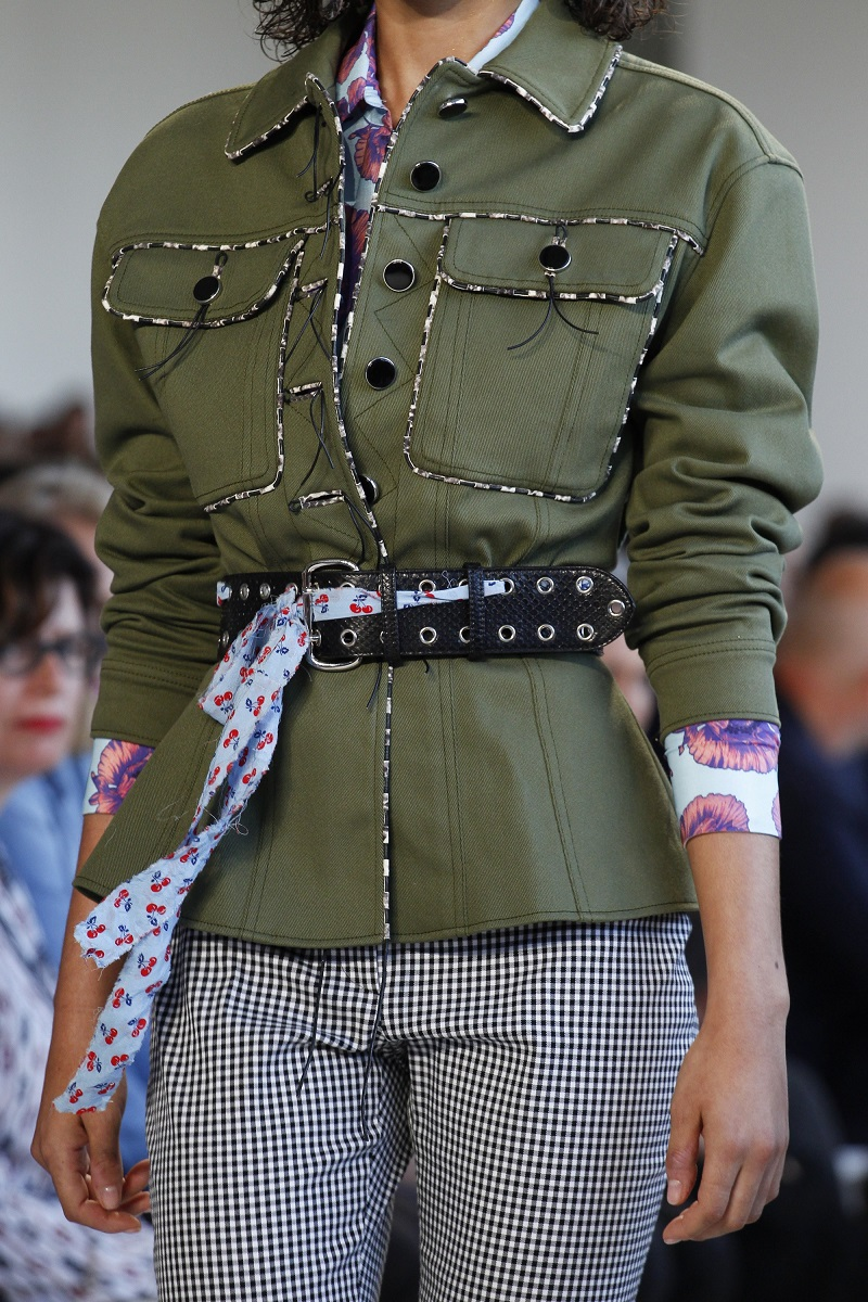 Altuzarra Feday Patch-Pocket Military Jacket