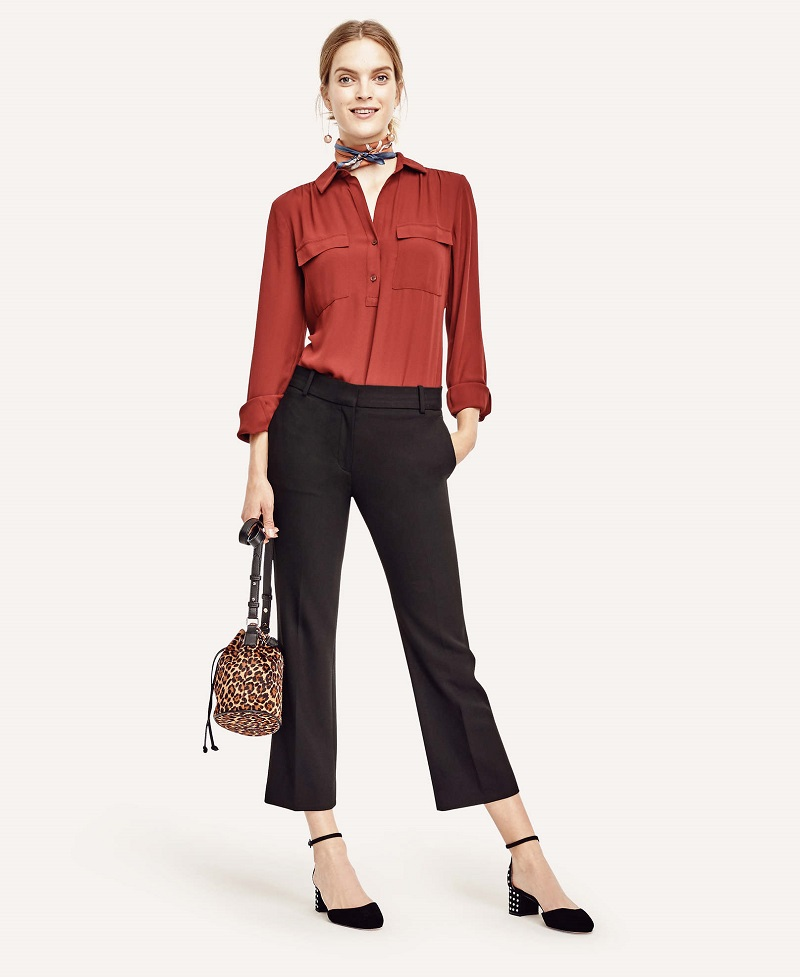 Ann Taylor Camp Popover