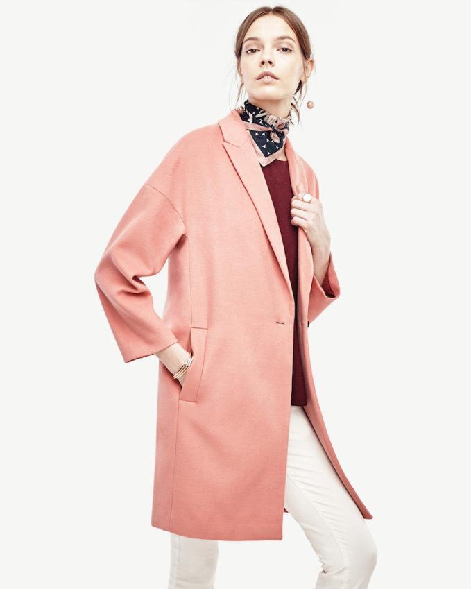 Ann Taylor Cocoon Coat