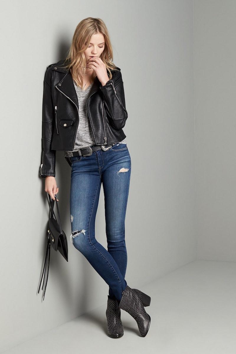BLANKNYC Hotel Distressed Skinny Jeans