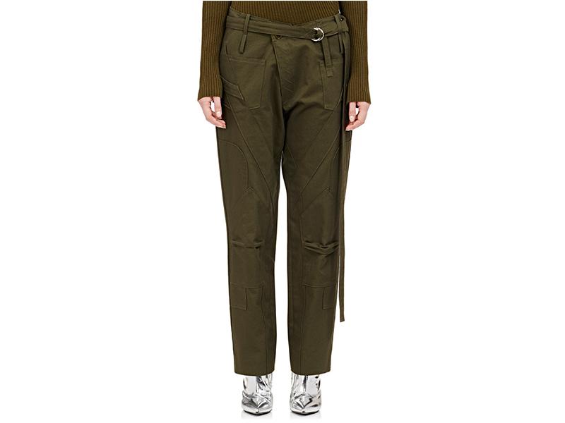 Balenciaga Gabardine Cargo Pants