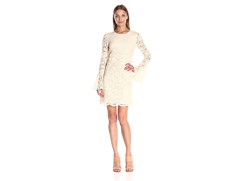 Betsey Johnson Scalloped Lace Dress