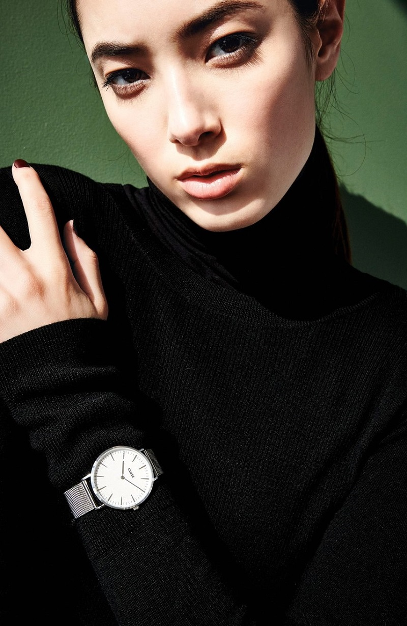 CLUSE La Bohme Mesh Strap Watch