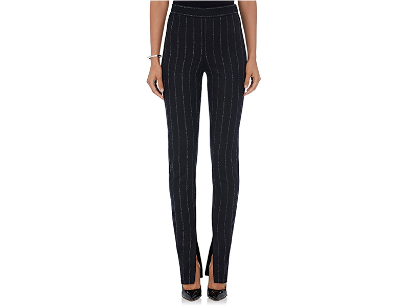 Cedric Charlier Fil Coupé pinstriped Pants