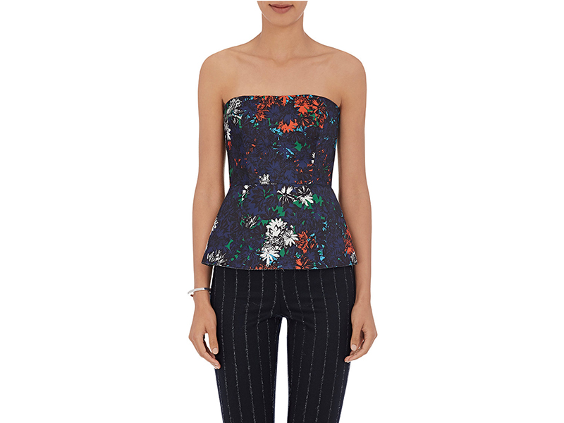 Cedric Charlier Floral Bustier