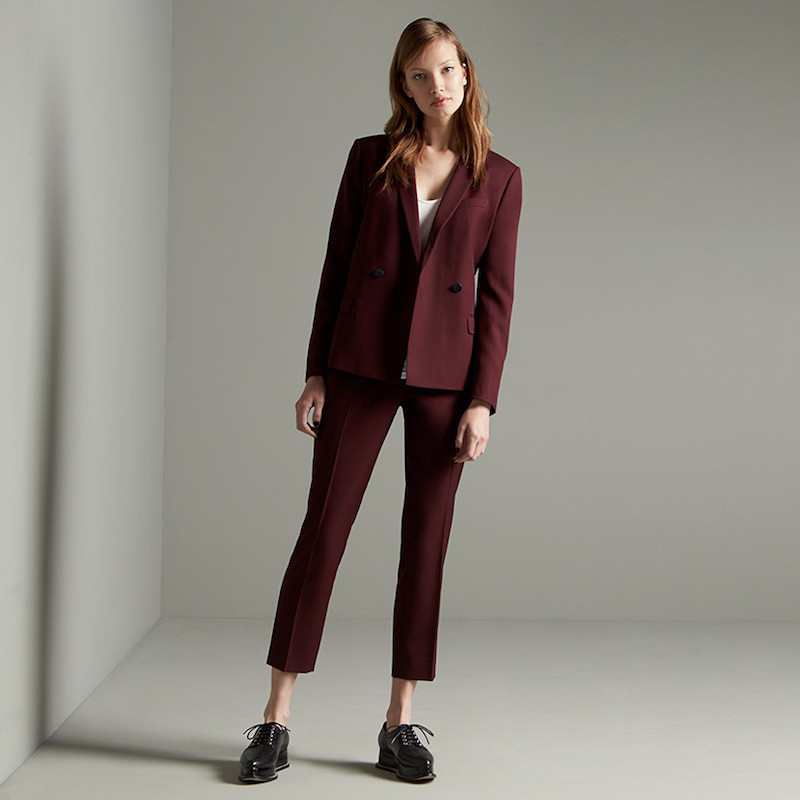 Chaus One-Button Blazer