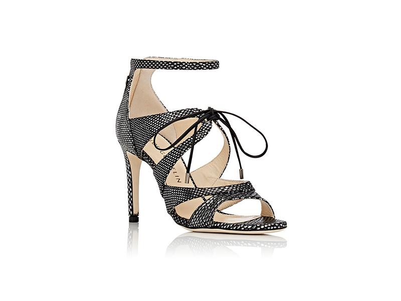 Chloé Gosselin Bryonia Snakeskin Sandals