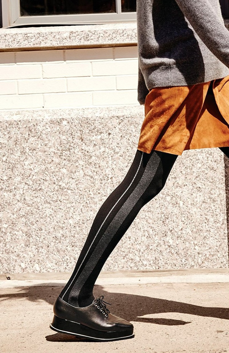 DKNY Color Block Tights