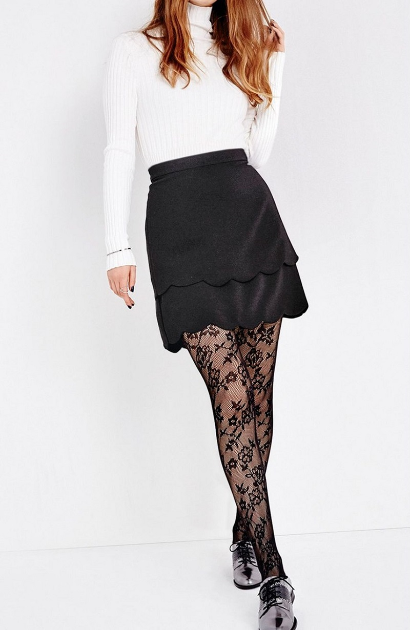 DKNY Lace Tights