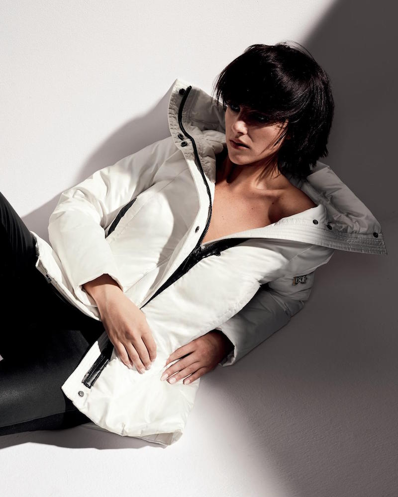 Dawn Levy Zip Front Hooded Jacket
