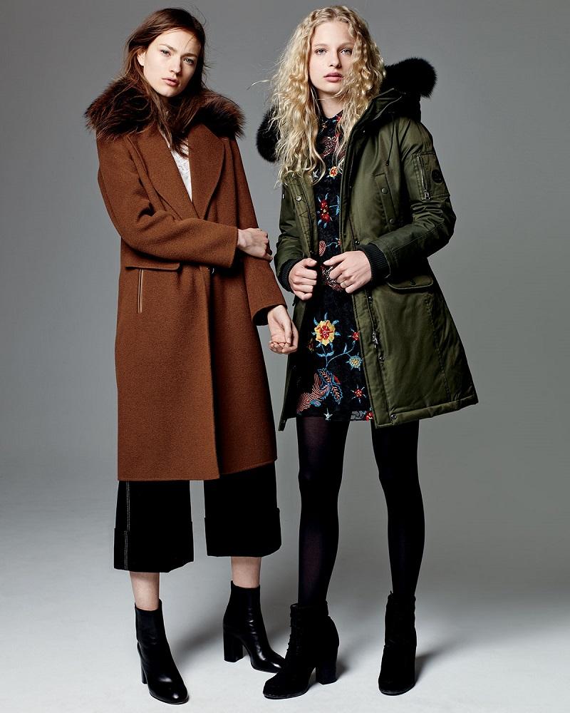 Derek Lam Wool Blend Coat