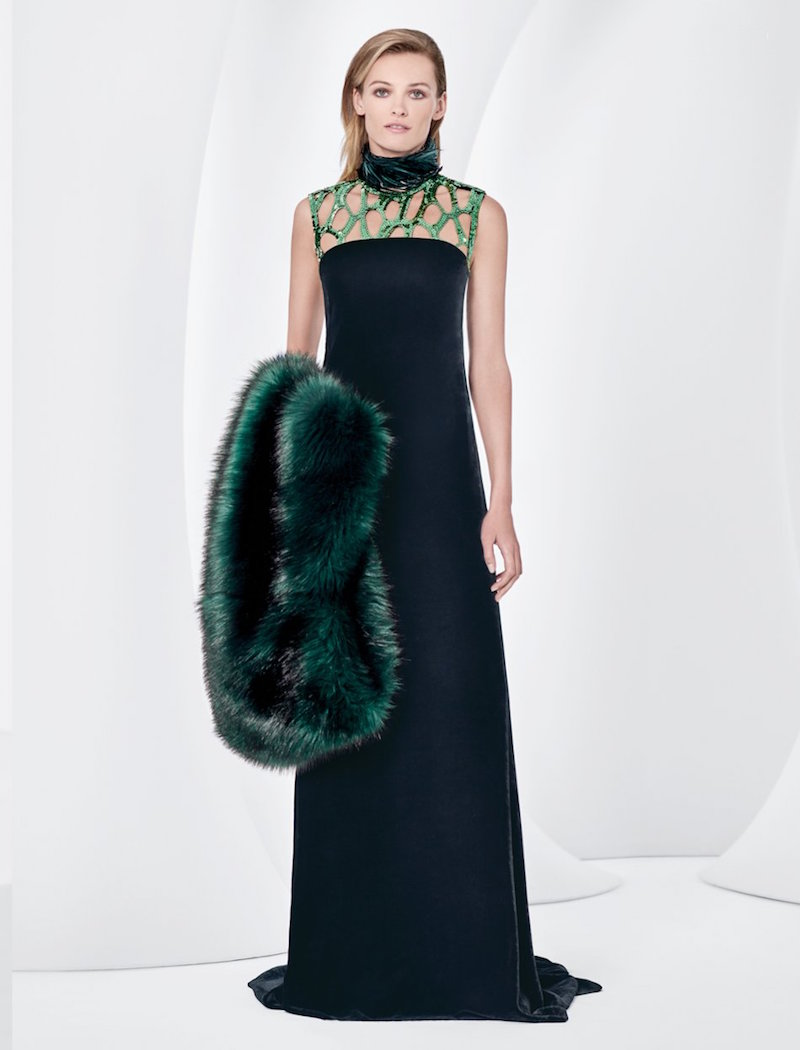 Dries Van Noten Velvet Gown