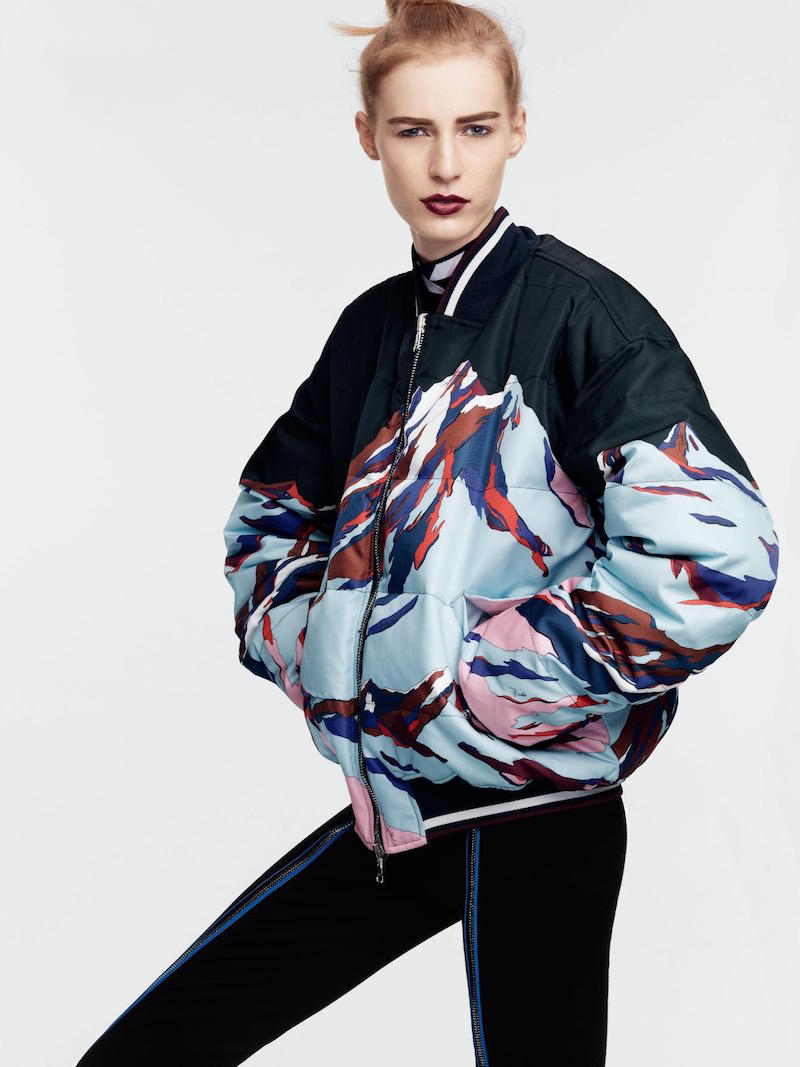 Emilio Pucci Reversible Alpine Printed Jacket