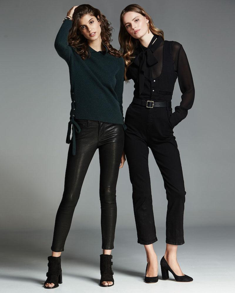 FRAME DENIM Le Skinny Leather Pants