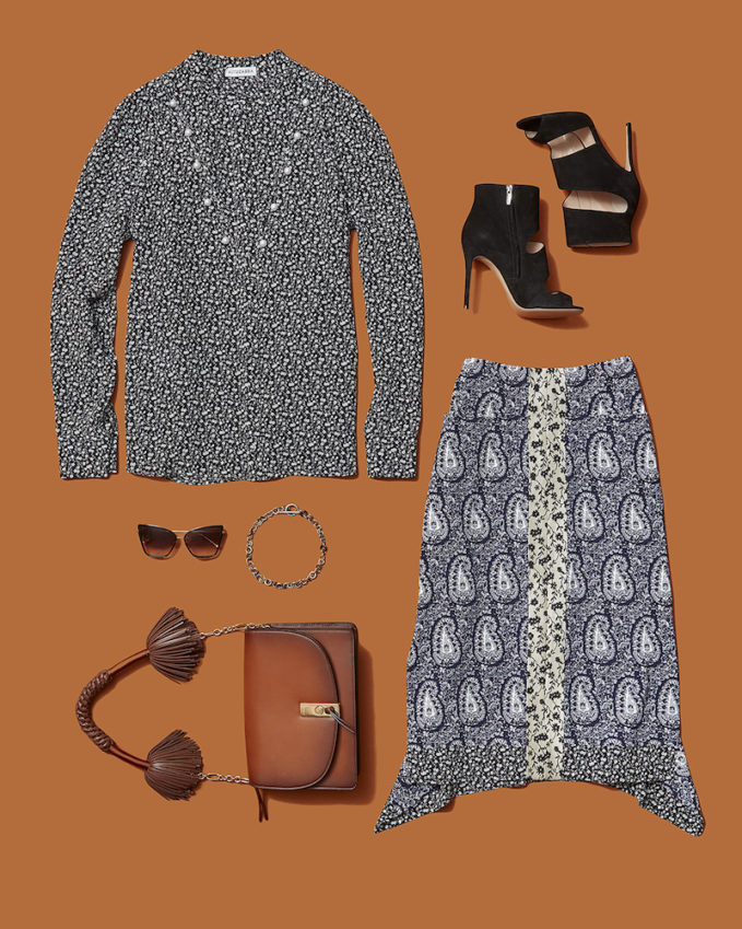 Fashion Week Outfit Ideas The Mini Print