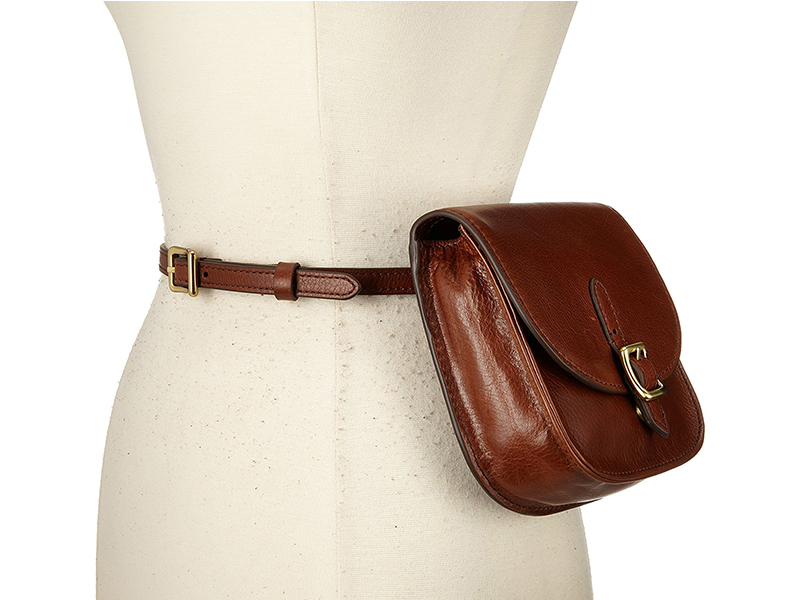 Fossil Saddle Bag Belt