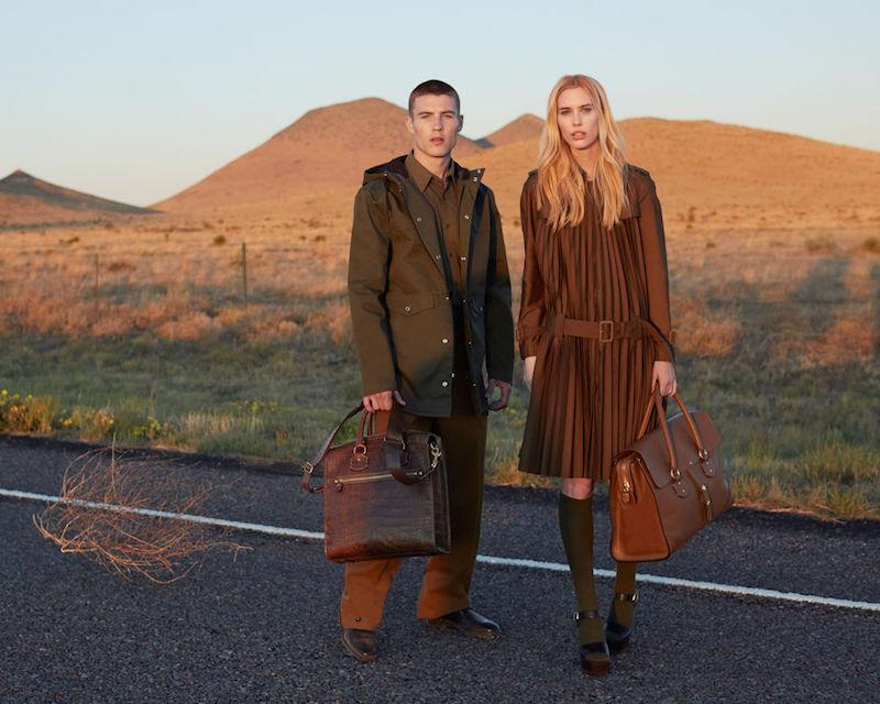 Ghurka Brookfield Leather Satchel Handbag