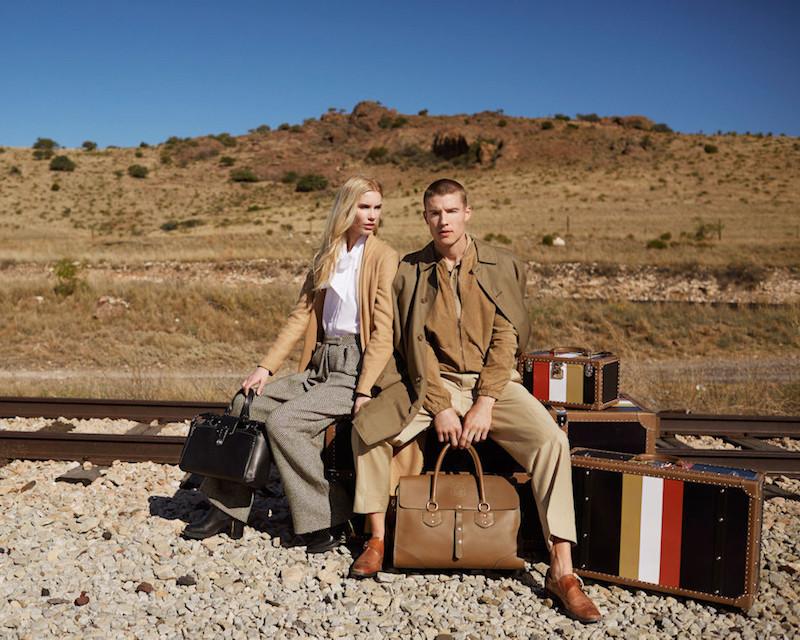 Ghurka Charlie Leather Handbag