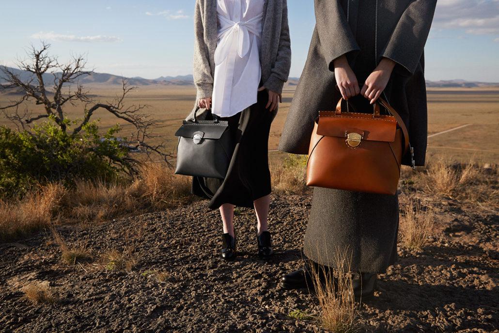 Ghurka Kingston II Leather Satchel Bag
