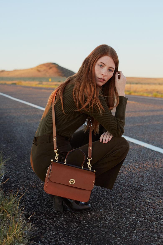 Ghurka Tilbury Leather Satchel Bag
