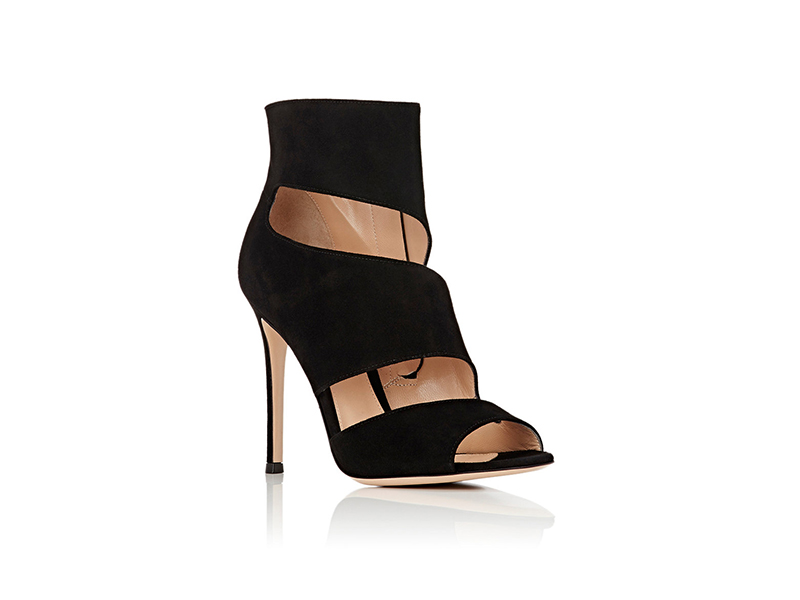 Gianvito Rossi Cutout Ankle Booties