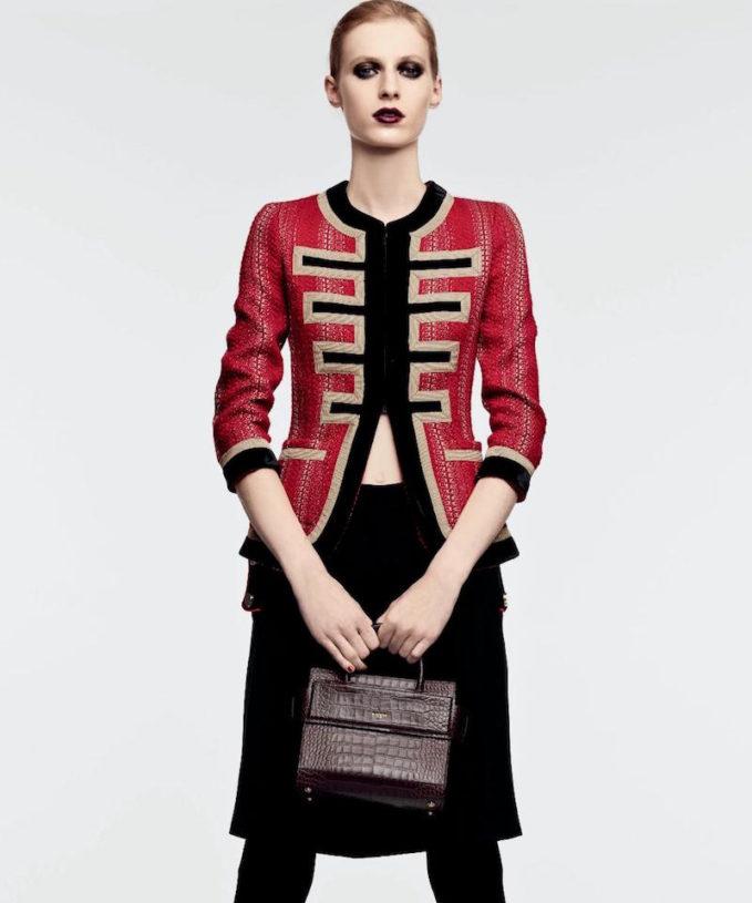 Givenchy Military Three-Quarter Sleeve Jacket