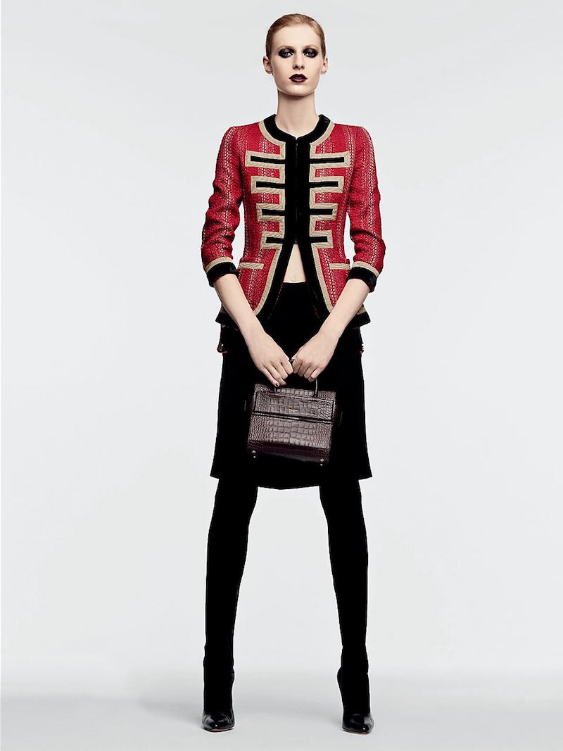 Givenchy Suede & Leather Over-The-Knee Boots