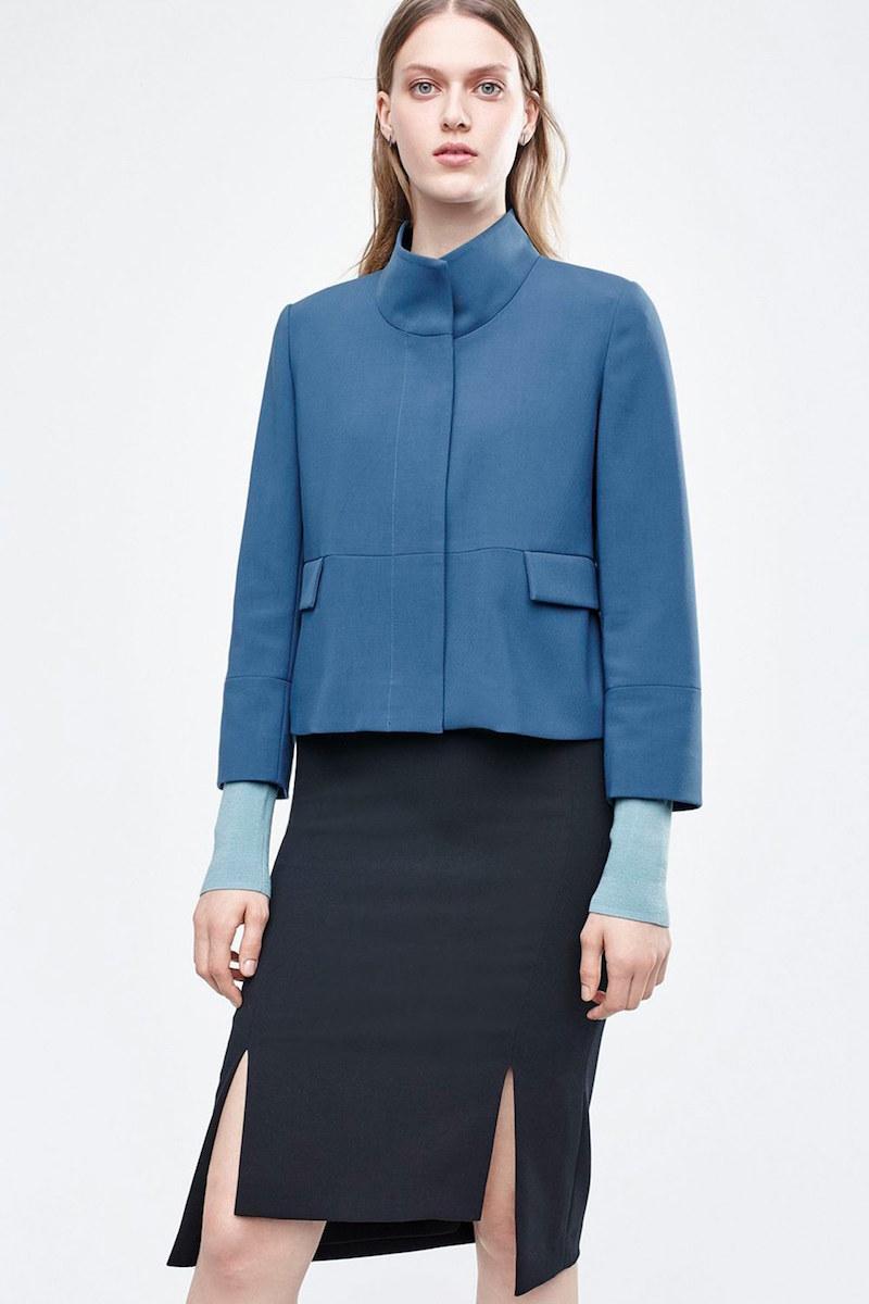 Halogen Stand Collar Jacket