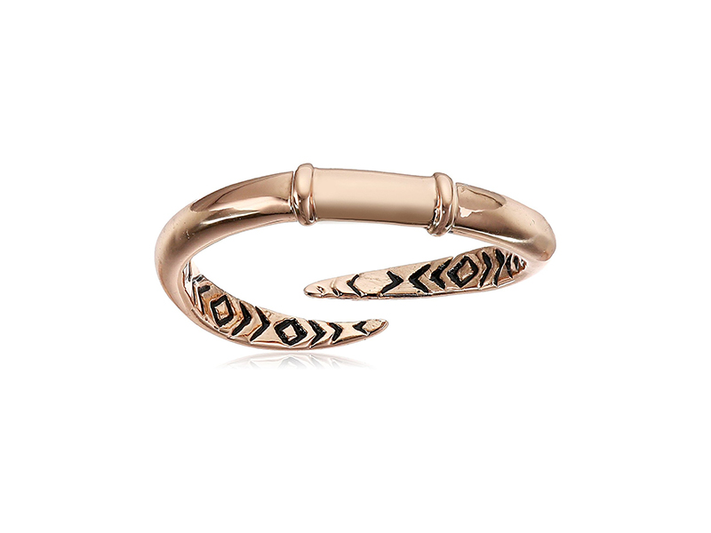 House of Harlow 1960 Rose Gold-Tone Arid Rid Ring