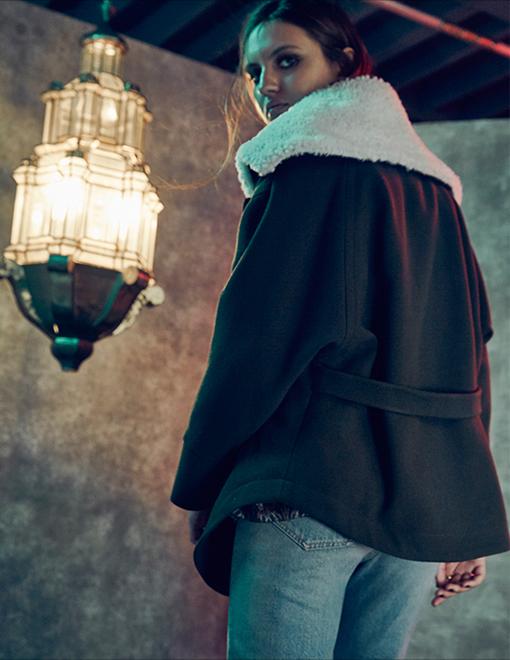 IRO Belted Back Anorak Jacket