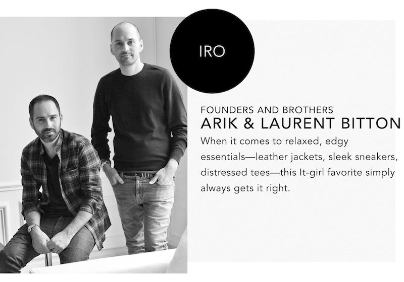 IRO at Paris Fashion Week