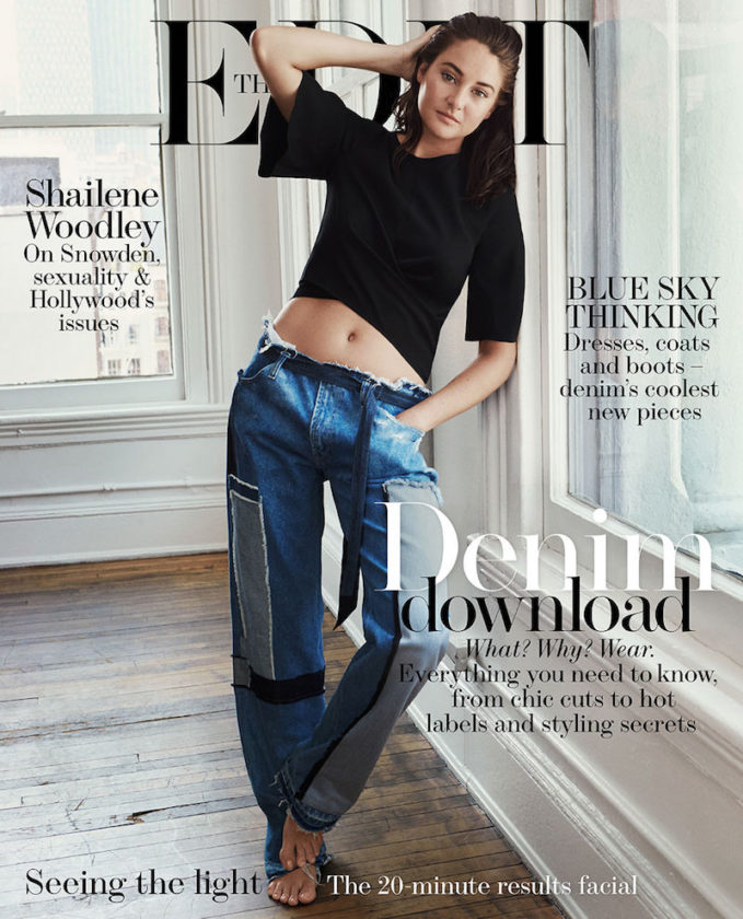In The Raw: Shailene Woodley for The EDIT