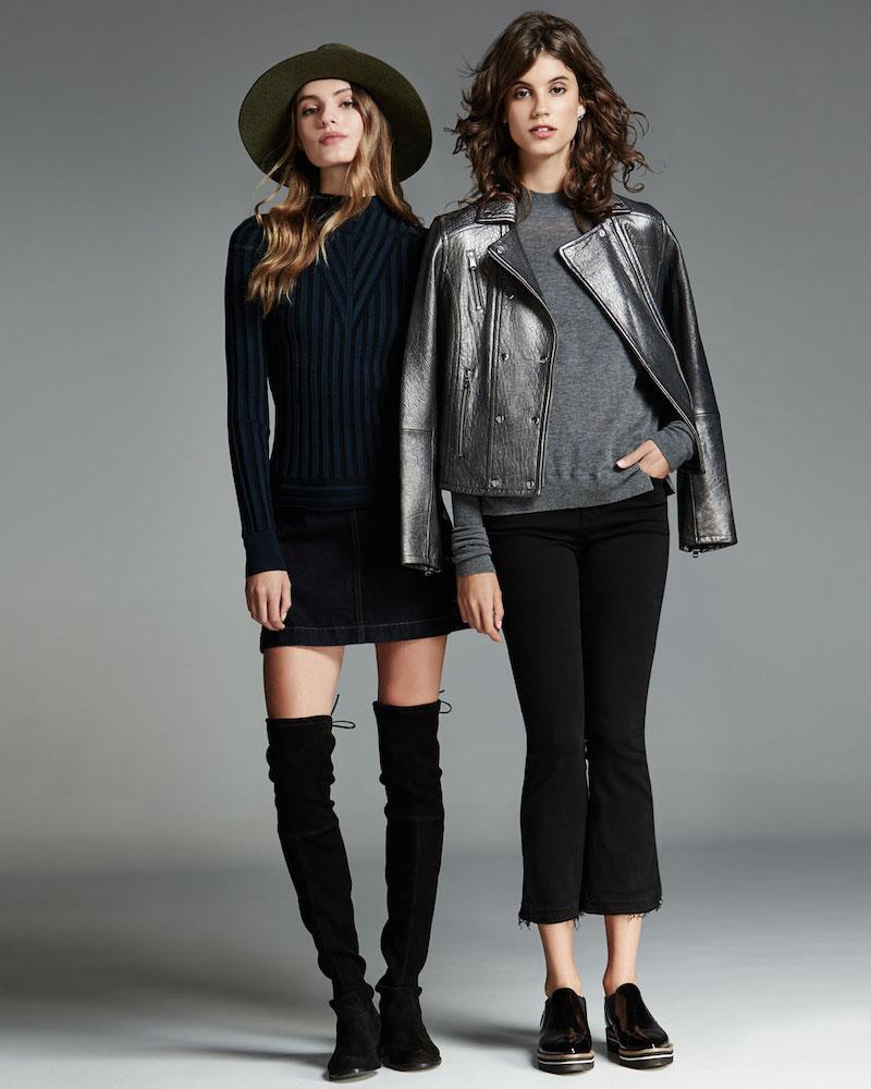 J Brand Jeans Ashlyn Side Button Denim Mini Skirt
