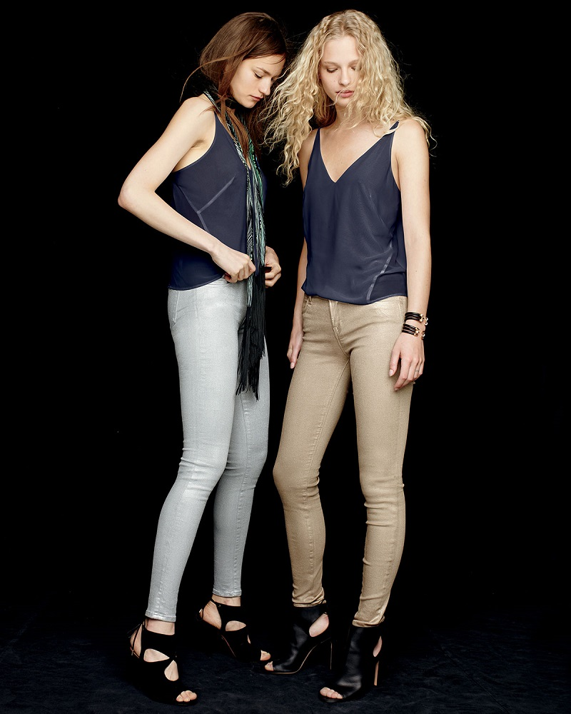 J Brand Jeans Lucy Silk Camisole Top