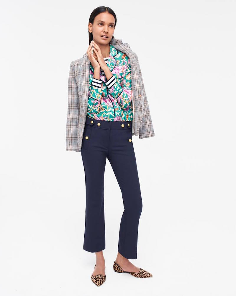 J.Crew Campbell Blazer In Glen Plaid