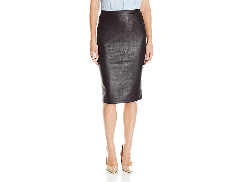 Jack by BB Dakota Devonta Faux-Snakeskin Skirt