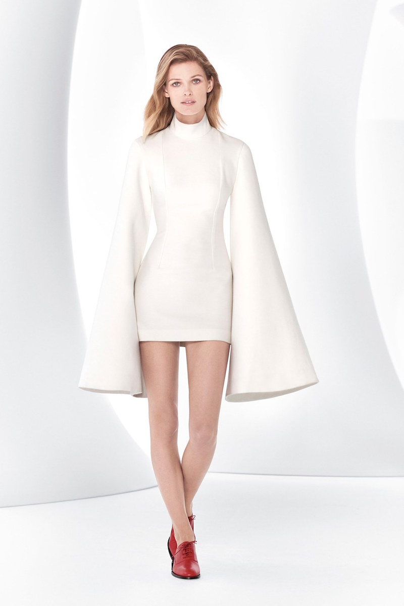 Jacquemus La Robe Grandes Manches Bell Sleeve Minidress
