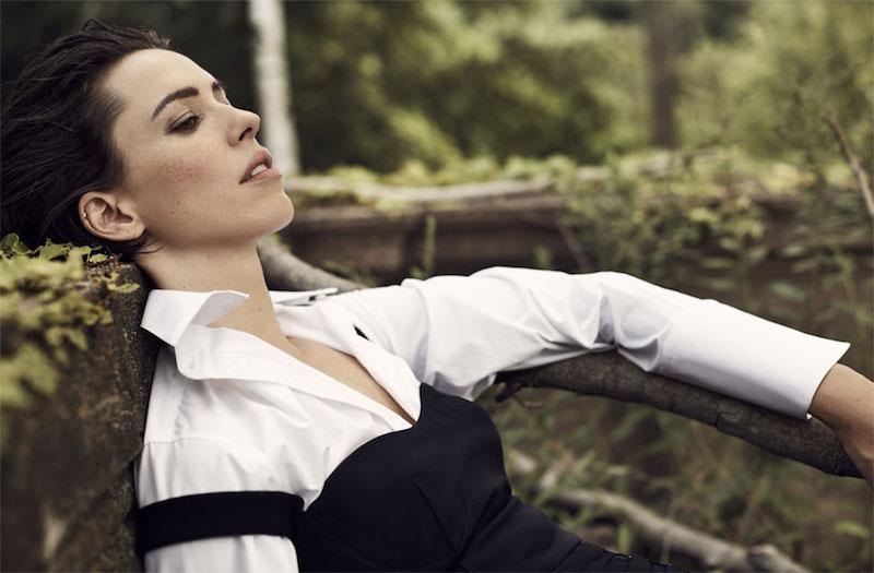 Joseph Emilie Oversized Silk-Trimmed Cotton-Poplin Shirt