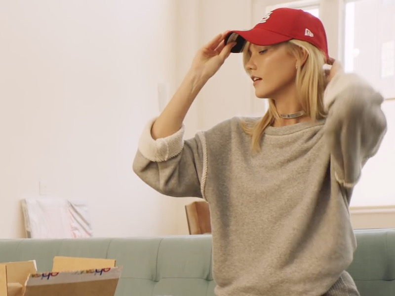 Karlie Kloss x eBay Unboxed Collection